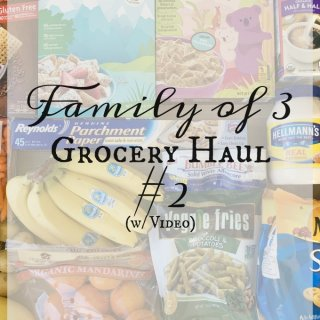 Family of 3 Grocery Haul #2