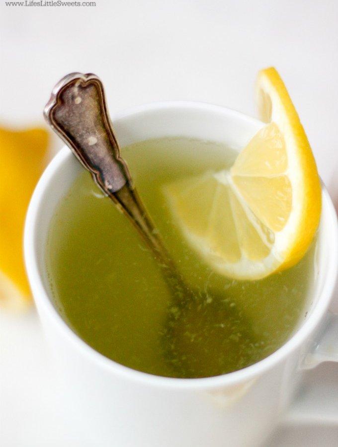 Lemon Water With Honey (Hot) www.LifesLittleSweets.com