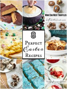 8 Perfect Easter Recipes – Easter is upon us, here are some fantastic & festive ideas to get your creativity flowing for this awesome Spring holiday. From Candy to Desserts to savory food, there's a little bit of everything to make Easter delicious!