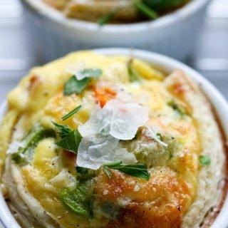 Breakfast Omelette Egg Cups on SoFabFood