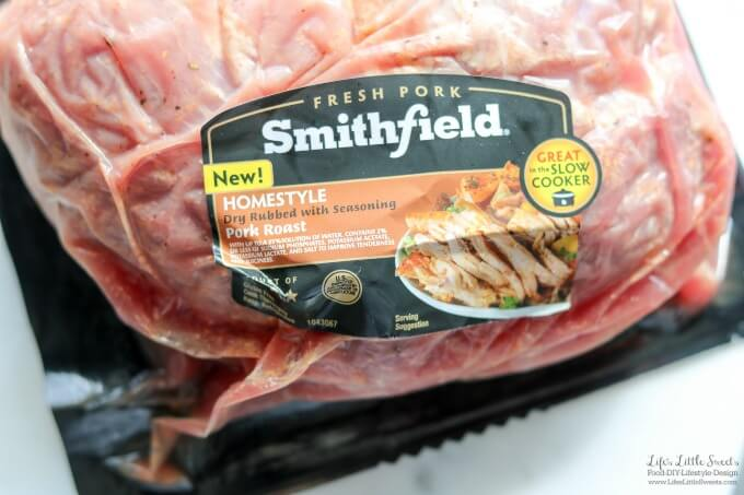 Marinated Pork Roast with Wedge Salad and Baked Sweet Potatoes Dinner is a savory, a little sweet and fresh dinner, perfect for when you need dinner on the table in 30 minutes. This recipe has Smithfield® Marinated Fresh Pork. #ad #RealFlavorRealFast #CollectiveBias @walmart