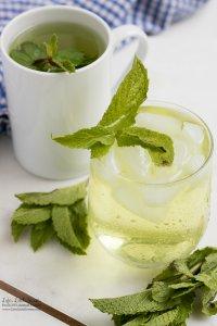 Fresh Mint Tea recipe www.lifeslittlesweets.com