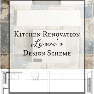 Kitchen Renovation Lowe's Design Scheme