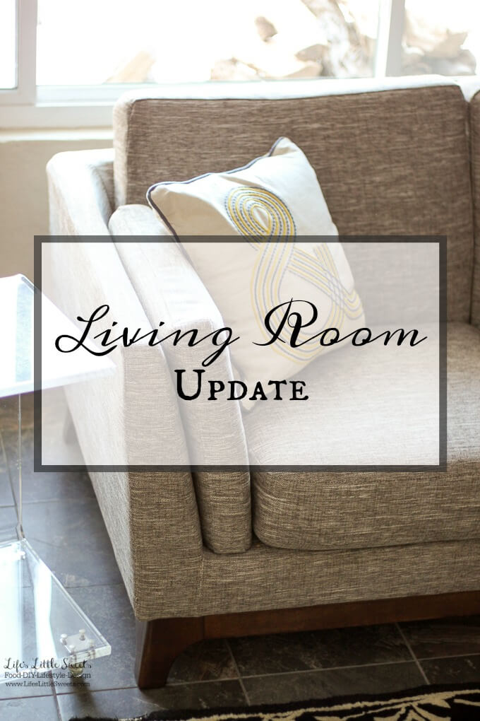 Living Room Update www.LifesLittleSweets.com