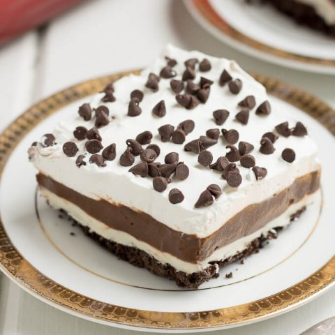 Luscious Mocha Lush Dessert Recipe www.lifeslittlesweets.com