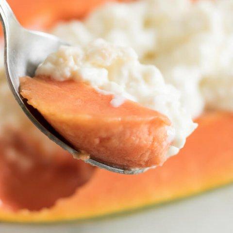 Cottage Cheese Papaya