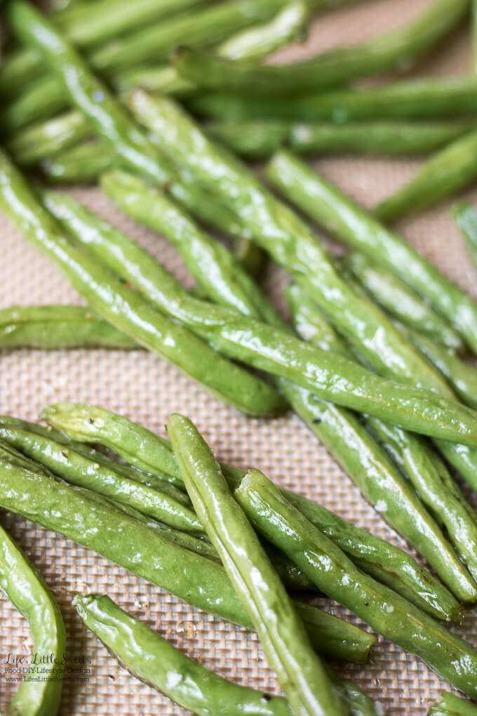 Roasted Green Beans Recipe | Thanksgiving Sides Recipes Collection