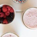 Summer Berries Sweet Cream Coffee Frappe