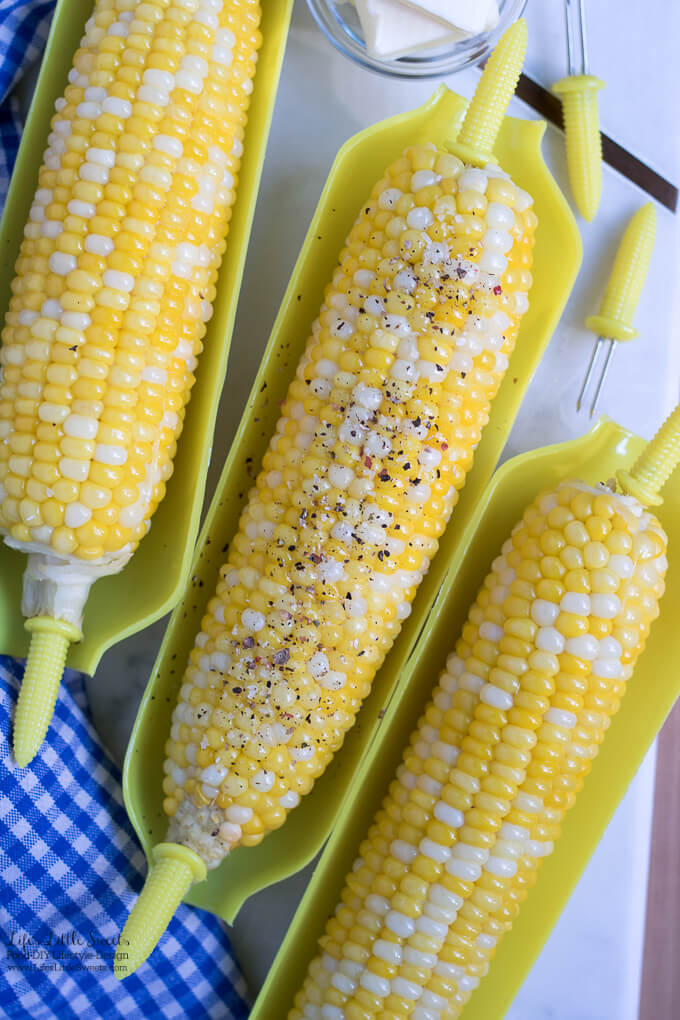 Boiled Butter Corn