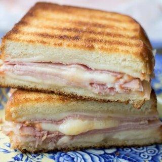 Grilled Cheese Ham Sandwich