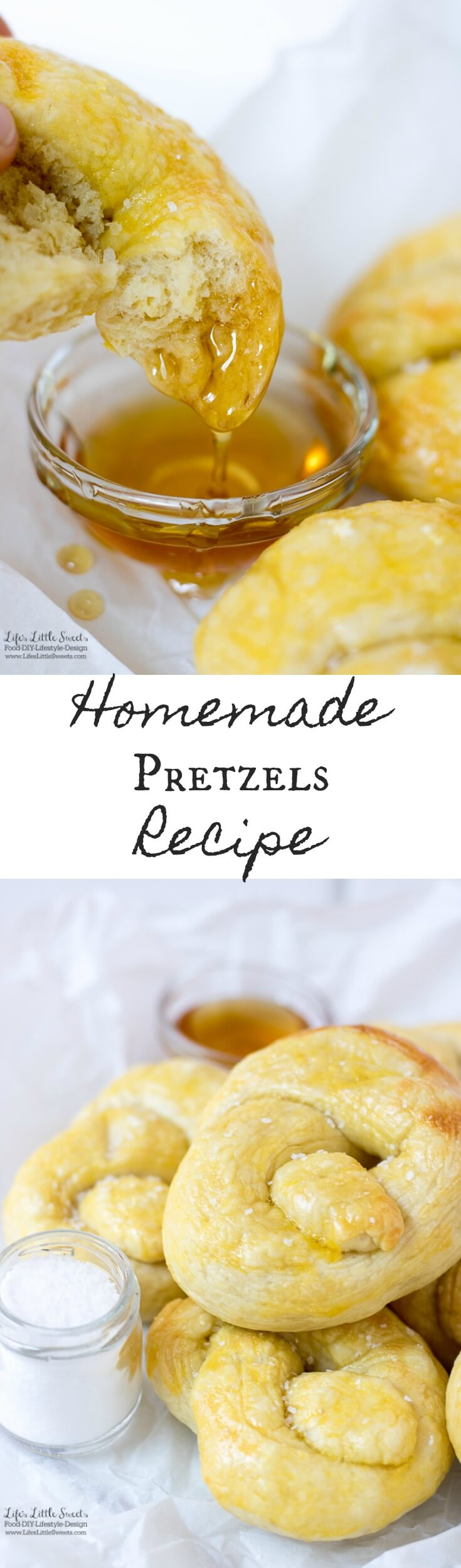 This Pretzels Recipe is delicious, yielding large, soft pretzels that go great dipped in wildflower honey or a mustard sauce. (makes 16 pretzels)