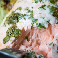 Fresh Herb Baked Salmon