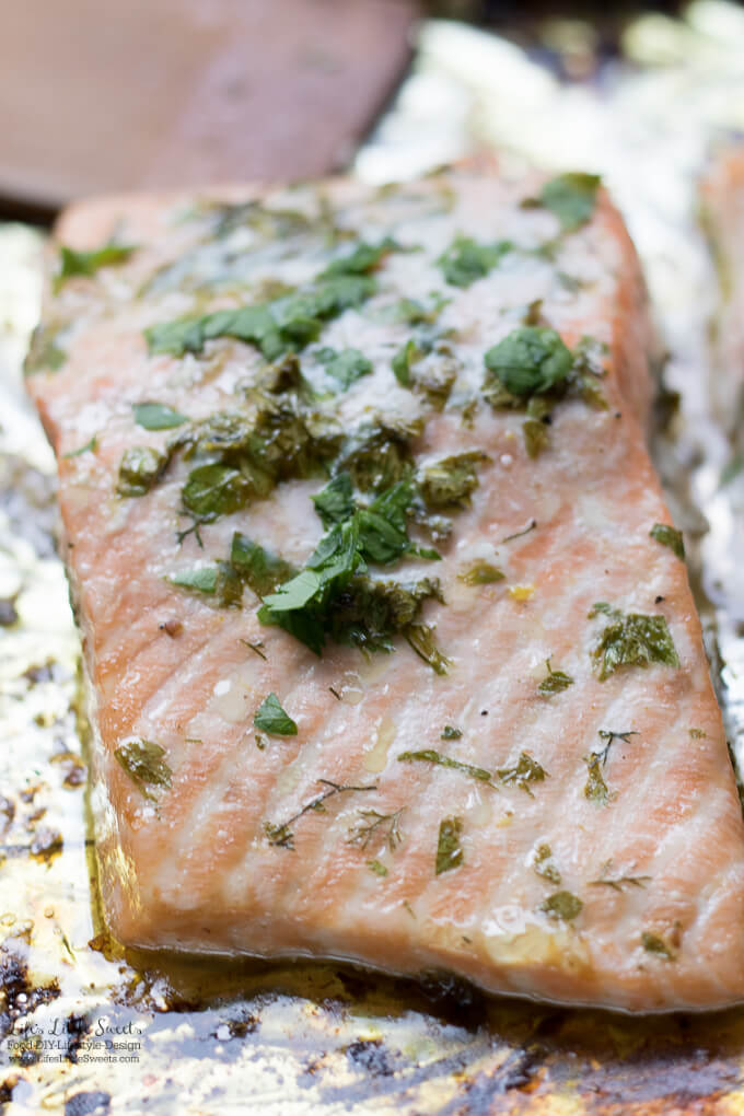 Fresh Herb Baked Salmon