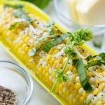 Basil Butter Corn