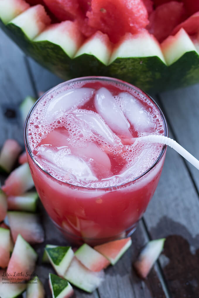 Watermelon Juice is a Summer-y, sweet and hydrating juice. Only 1 ingredient! (vegan, gluten-free)