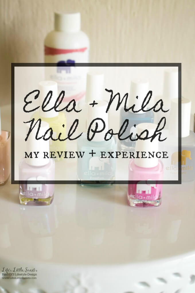 I recently got a shipment from Ella + Mila Nail Polish, I share which colors & products that I chose and my experience with their products. #ad