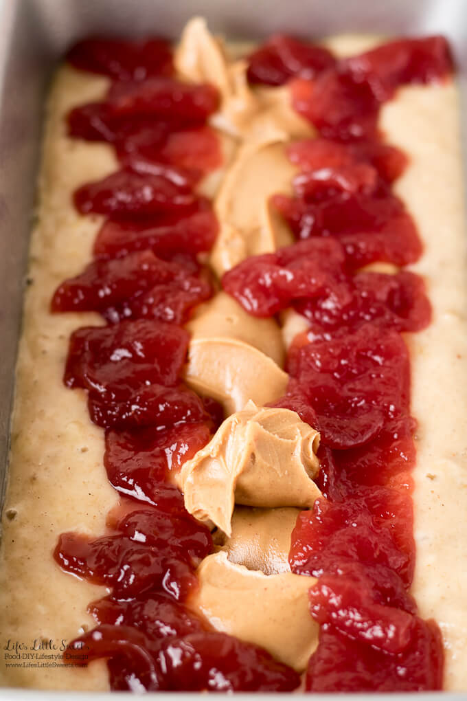 Peanut Butter And Jelly Strawberry Banana Bread Pb Amp J