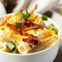Chicken Bacon Ranch Cold Pasta Salad