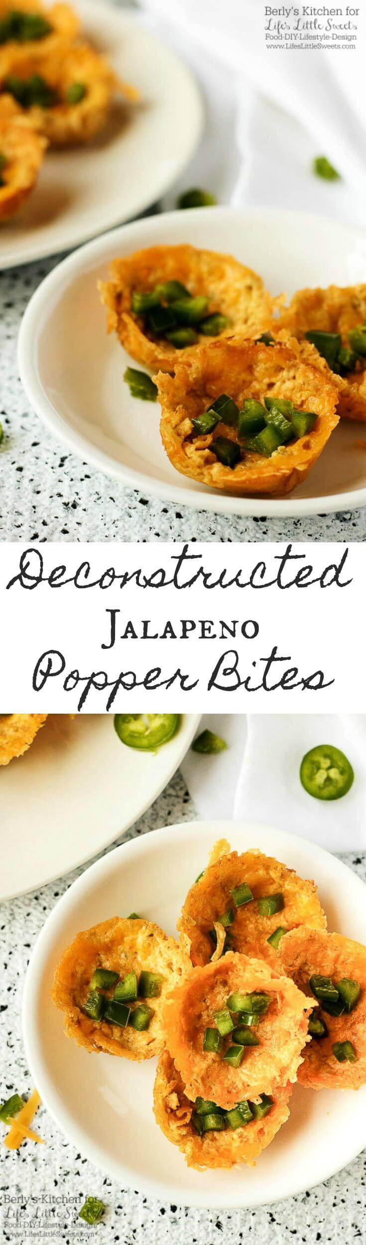 Deconstructed Jalapeno Popper Bites www.lifeslittlesweets.com