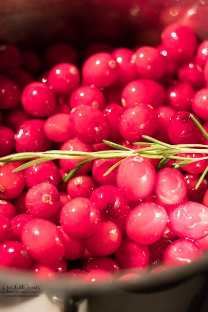 Rosemary-Infused Cranberry Sauce