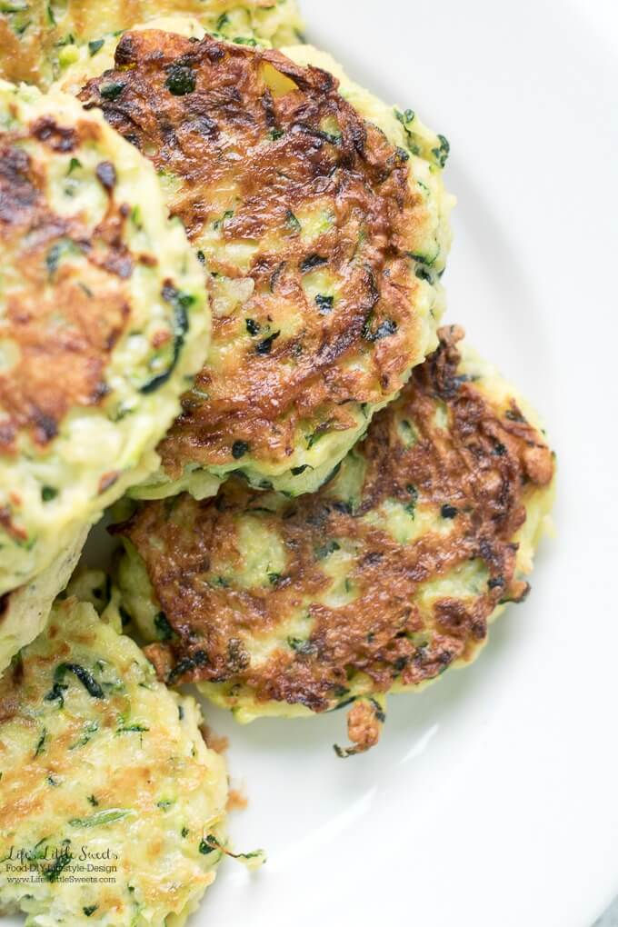Homemade Zucchini Fritters are a great, tasty way to use up Summer zucchini. Serve them for breakfast, brunch or lunch!