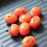 Tomato Basil Mozzarella Black Bean Burger Bites