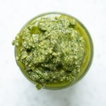 Homemade Garden Fresh Basil Pesto