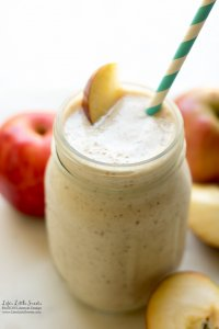 Apple Cinnamon Date Smoothie