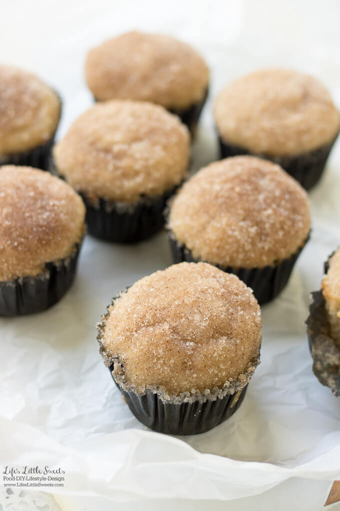 These Snickerdoodle Muffins have that classic buttery, cinnamon-sugar flavor that you would get in a Snickerdoodle cookie - only in a muffin! Enjoy these delicious muffins with your morning coffee or tea!
