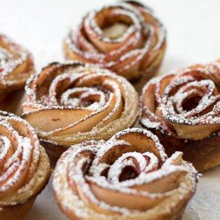 Apple Rose Puff Pastry Recipe