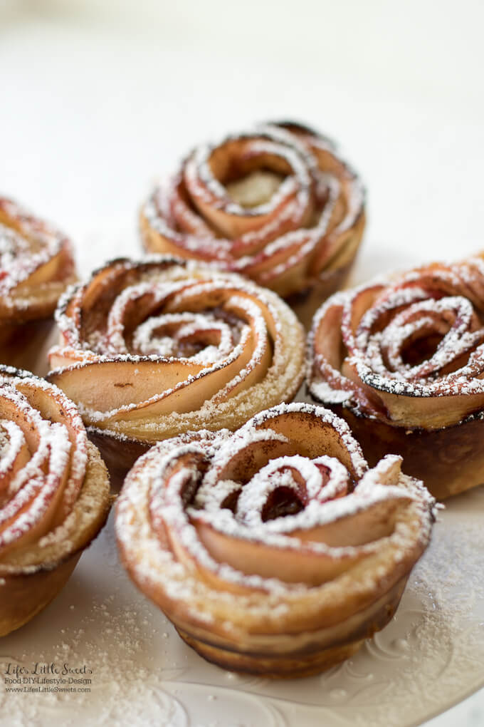 Apple Rose Puff Pastry Recipe