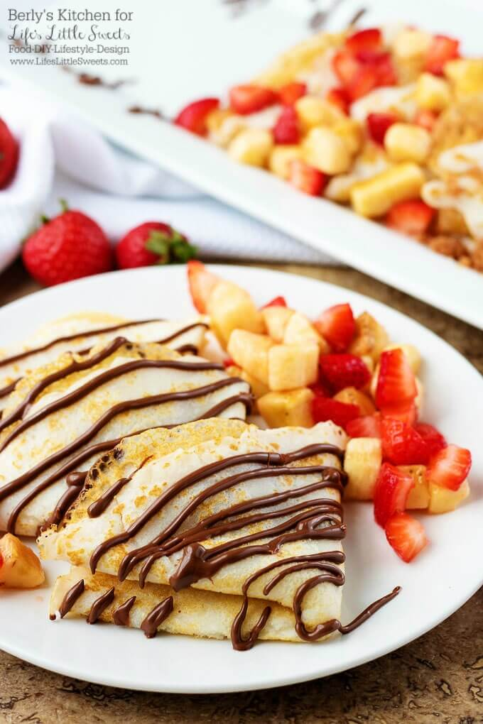 There's no arguing crepes are a popular food. However, people are passionate about their favorite fillings. Here's a variety of options sure to satisfy.