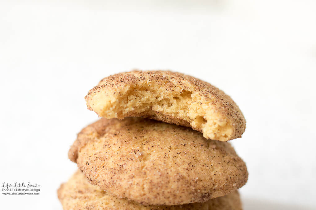Pumpkin Snickerdoodle Cookies are the perfect Fall recipe with it's warm, cinnamon-y, pumpkin spice-sugar coating on the outside and pumpkin flavor on the inside. Enjoy these pillow-y, soft cookies with a mug of tea or coffee.