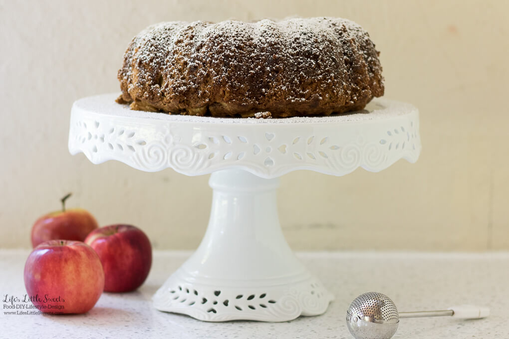 This Apple Bundt Cake recipe is moist, infused with fragrant and warm spices and delicious apples. Serve this delicious and pretty bundt cake for any gathering, Fall or Winter holiday!