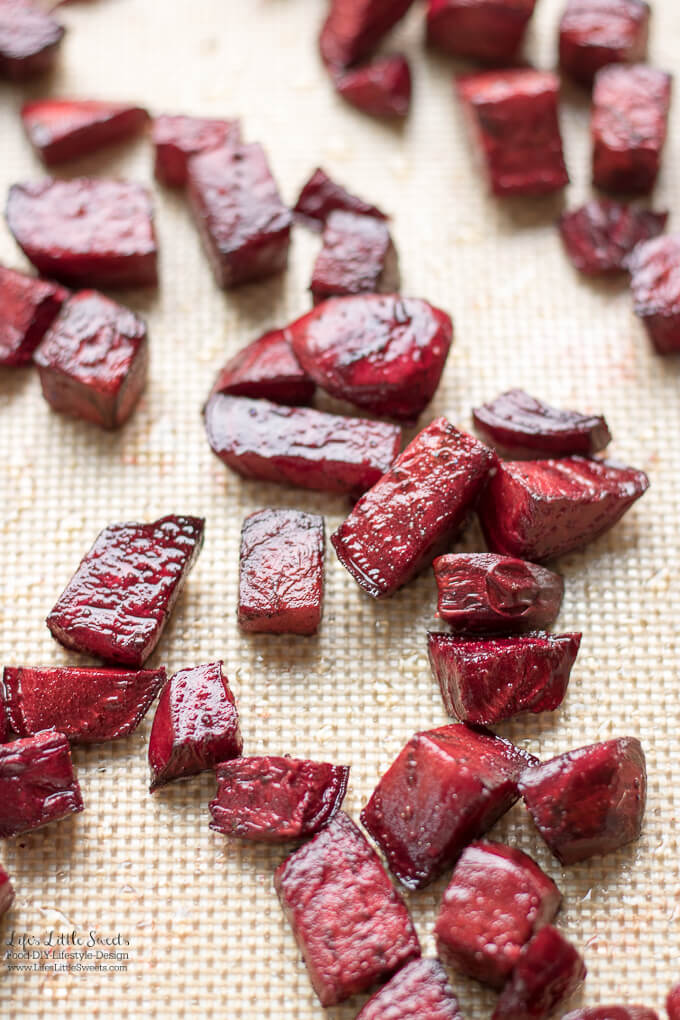 Oven Roasted Beets are a delicious Fall favorite and a great side dish for dinner or enjoyed over a salad. (vegan, gluten-free)