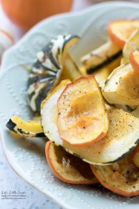 Rustic Oven Roasted Mini Pumpkin Squash
