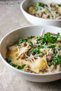 Homemade Zuppa Toscana