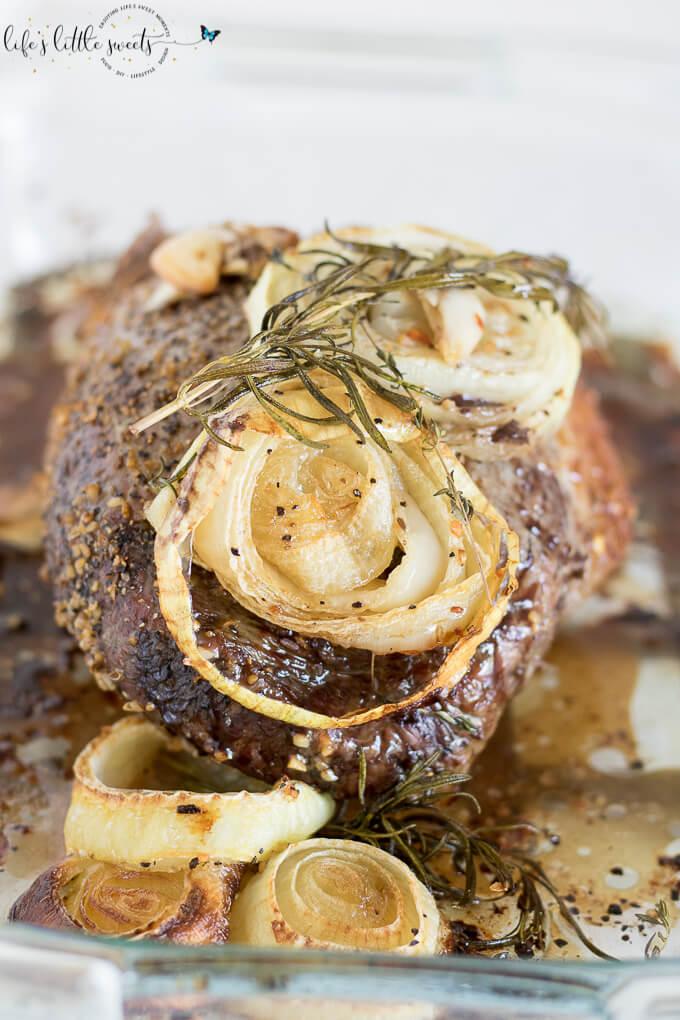 Garlic Herb Eye of the Round Roast