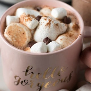 Slow Cooker Hot Chocolate Recipe on SoFabFood