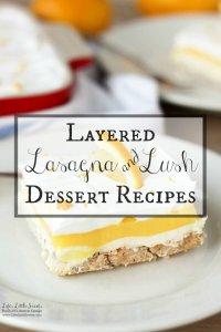 Layered Lasagna Lush Dessert Recipes
