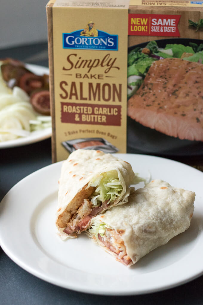 Easy Beer Battered Fish Wrap