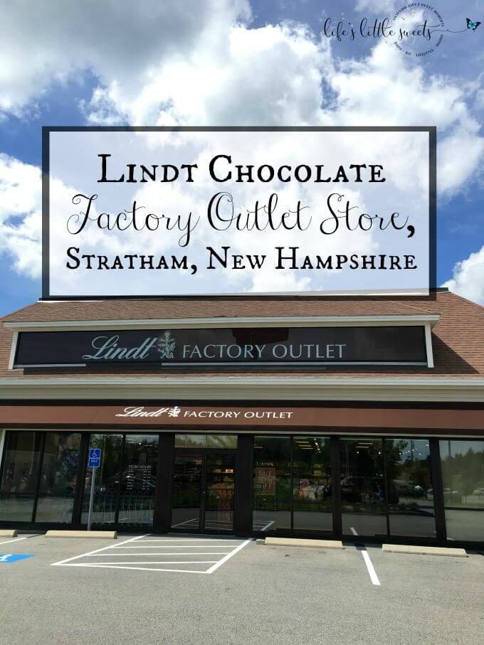 Lindt Chocolate Factory Outlet Store, Stratham, New Hampshire - I visited the Lindt Chocolate Factory Outlet Store and it is the stuff that dreams are made of (being really dang good chocolate!) #lindt #chocolate #store #outlet #NH
