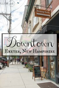 Downtown Exeter, New Hampshire