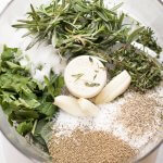 Garlic Herb Dry Brine