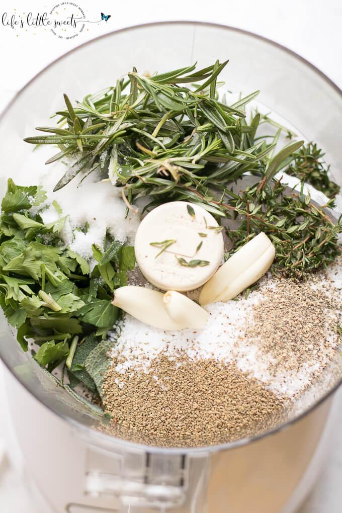 Garlic Herb Dry Brine