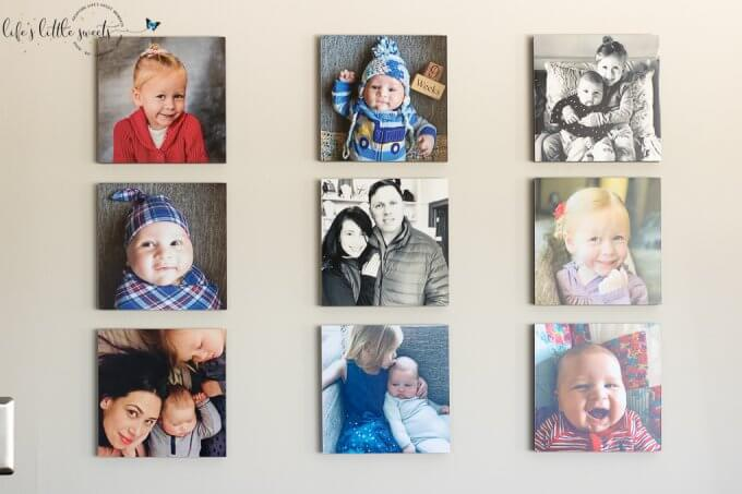 Mixtiles Unboxing 2nd Order Living Room Photo Wall. - I recently ordered my 2nd order of Mixtiles and I'm sharing my Unboxing, my set up in my living room and experience with the Mixtiles app. #mixtiles #ad @mixtiles