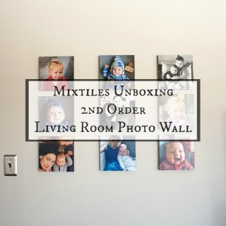 Mixtiles Unboxing 2nd Order Living Room Photo Wall