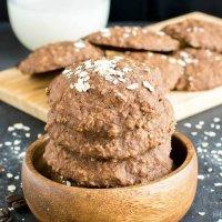 Mocha Oatmeal Cookies