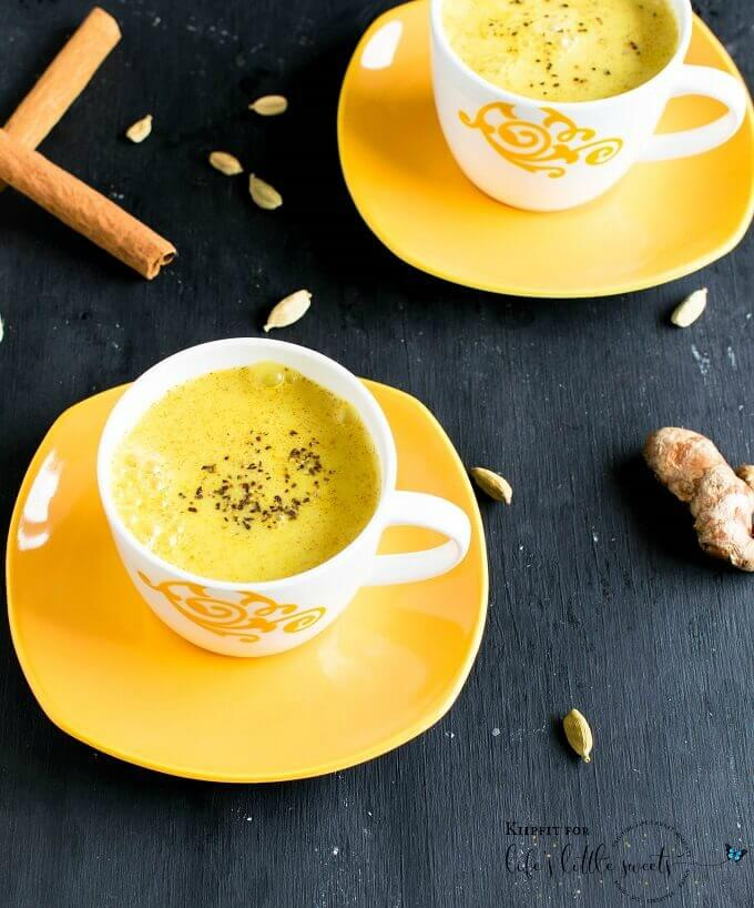 Ginger Golden Milk