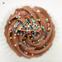 Chocolate Buttercream Frosted Chocolate Cupcakes